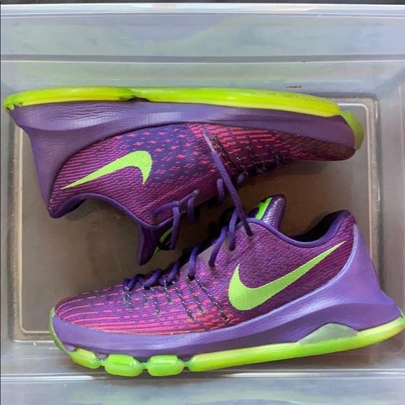 Nike Shoes | Nike Kd Purple Green